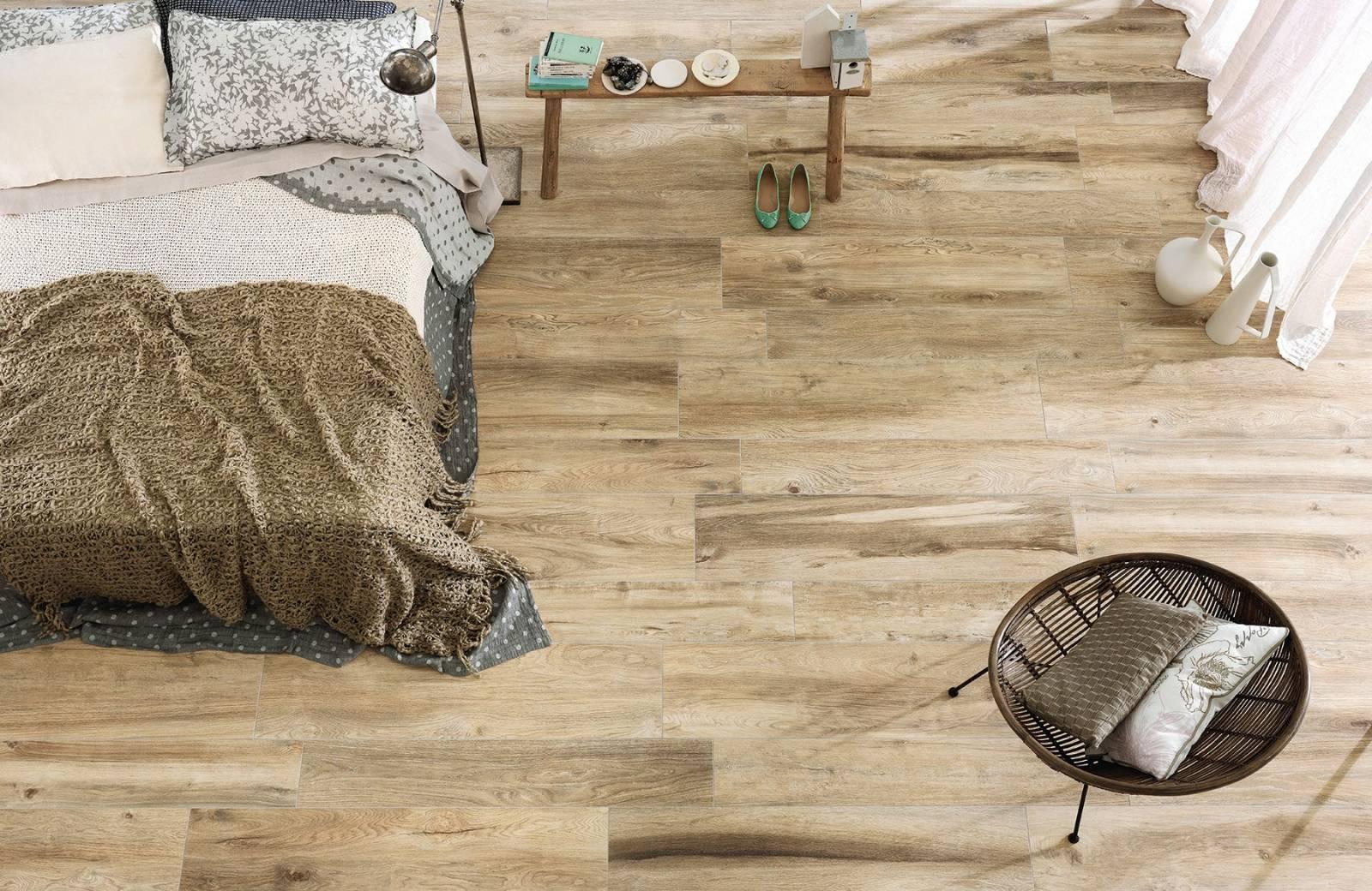 Carreaux De Ciment Parquet Bois carrelage de sol intérieur en imitation bois naturel pour